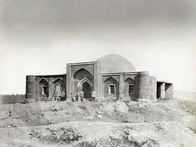 Desert Dome Photograph - Central Asia Caravansary by Granger