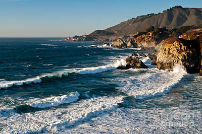 Central Coastal California 2.2609 Art Print by Stephen Parker