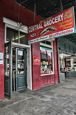 Photograph - Central Grocery by Lynn Jordan