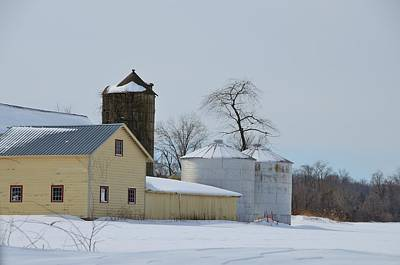 Photograph - Central  Jersey Winter Landscape 1 by Steven Richman