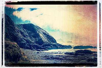 Photograph - Central Oregon Coast - Photoart by Mick Anderson