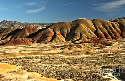 Photograph - Central Oregon Painted Hills by Adam Jewell