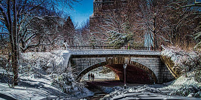 Central Park After Nemo Print by Chris Lord