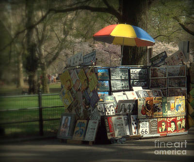 Photograph - Central Park - Art In The Park For Sale by Miriam Danar