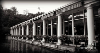Photograph - Central Park Boathouse by Miriam Danar