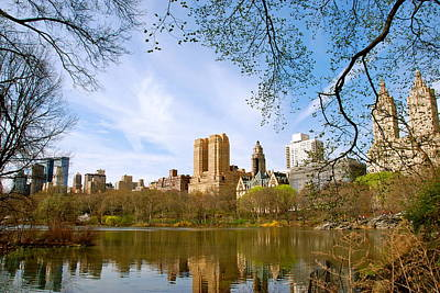 Photograph - Central Park In Spring by Eric Dewar