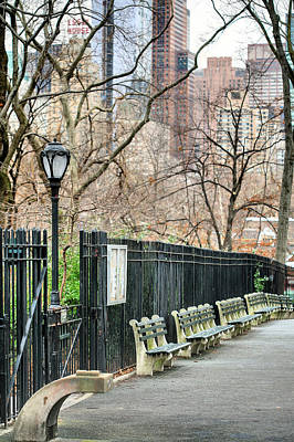 Central Park Art Print by JC Findley