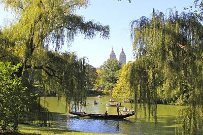 Central Park Lake Art Print