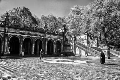 Central Park - Near Bethesda Fountain Print by Madeline Ellis