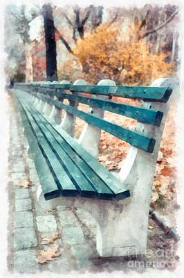 Photograph - Central Park Nyc by Edward Fielding