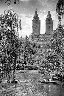 Mannequin Dresses - Central Park by Paul Watkins