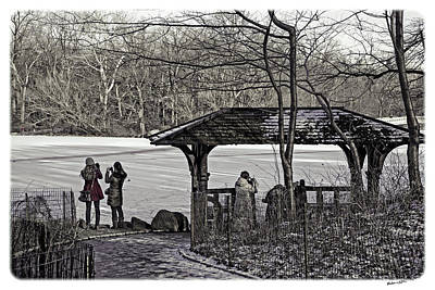 Central Park Photo Op 1 - Nyc Art Print by Madeline Ellis