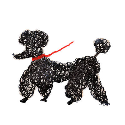 Poodle Wall Art - Painting - Central Park Poodle by Gina Ritter