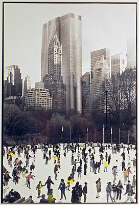 Photograph - Central Park Skaters by Patricia  Tierney