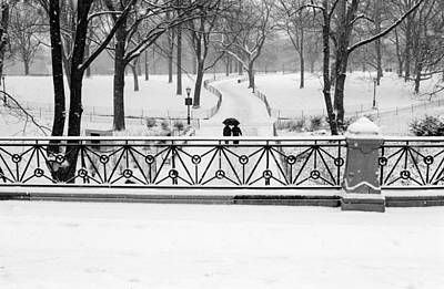 Photograph - Central Park Snow by Dave Beckerman