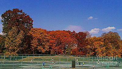 Central Park Tennis The Country Club Original