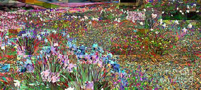 Photograph - Central Park - Daffodil Garden by Miriam Danar