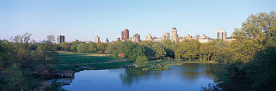 Central Park, Upper East Side, Nyc, New Print by Panoramic Images