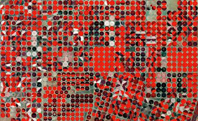 Central-pivot Irrigation Art Print by European Space Agency/copernicus Sentinel Data (2015)