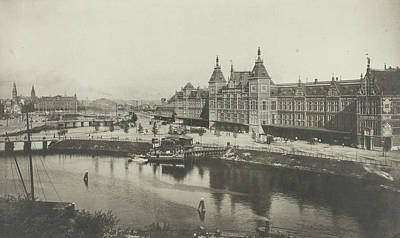 Central Station As Seen From The St. Nicholas Church Print by Artokoloro