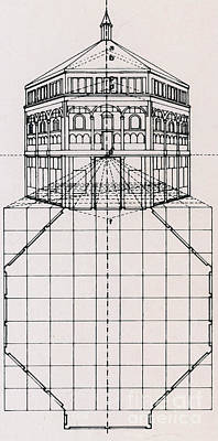 Visual Perceptions Photograph - Centralized Perspective, Florence by Science Source