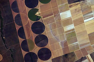 Pivot Photograph - Centre Pivot Irrigation by Nasa
