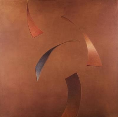 Centrifuge, 2010 Acrylic On Canvas Art Print
