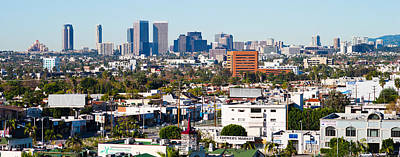 Beverly Hills Photograph - Century City, Beverly Hills, Wilshire by Panoramic Images