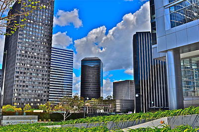 Photograph - Century City Color by Joe  Burns