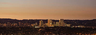 Century City, Wilshire Corridor, Los Art Print by Panoramic Images