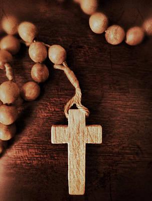 Photograph - Century Rosary by Patricia Januszkiewicz