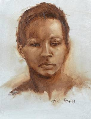 Painting - Ceny In Umber by Carol Berning