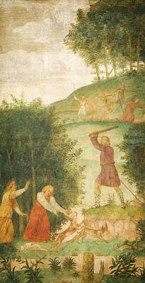 Child Jesus Painting - Cephalus Punished At The Hunt by Celestial Images