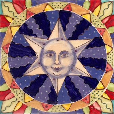 Ceramic Star Print by Anna Skaradzinska