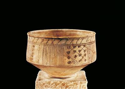 Ceramics Photograph - Ceramic Vase. Ca.  400 Bc. La T�ne by Everett