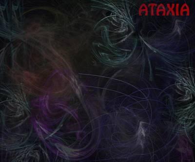 Photograph - Cerebellar Ataxia Art I by Sandra Pena de Ortiz