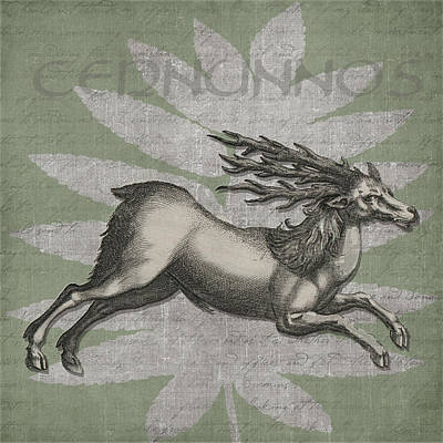 Greek Icon Digital Art - Cernunnos Lord Of The Wild Things by Kandy Hurley