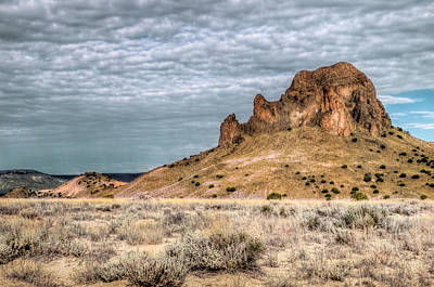 Sw New Mexico Photograph - Cerro Guadalupe by Roch Hart