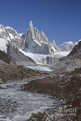 Photograph - Cerro Torre Argentina by Rudi Prott
