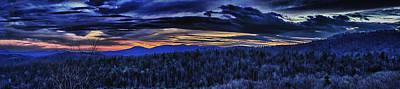 Photograph - Cerulean Sunset by Daniel Amick