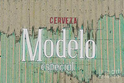 Digital Art - Cerveza Modelo Especial by Liz Leyden