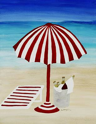 Painting - Cerveza Por Favor by Barbara St Jean