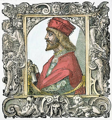 Cesare Painting - Cesare Borgia (c by Granger