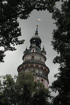 Photograph - Ceske Krumlov Tower by Michael Kirk