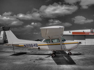 Cessna 172 R G Cutlass Art Print by John Straton