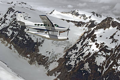 Cessna Caravan Amphibian Seaplane Art Print