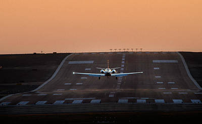 Cessna Citation On Short Final Art Print