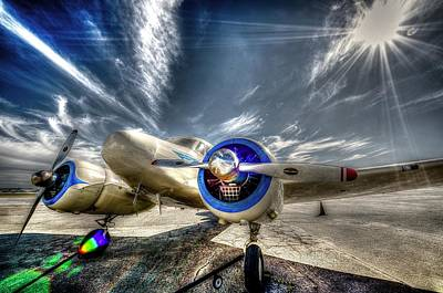 Photograph - Cessna T-50 by David Morefield
