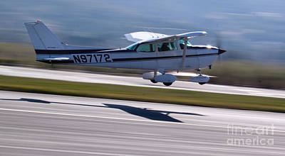 Cessna Takeoff Print by John Daly