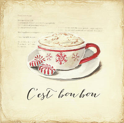 Candy Painting - Cest Bon Bon by Emily Adams